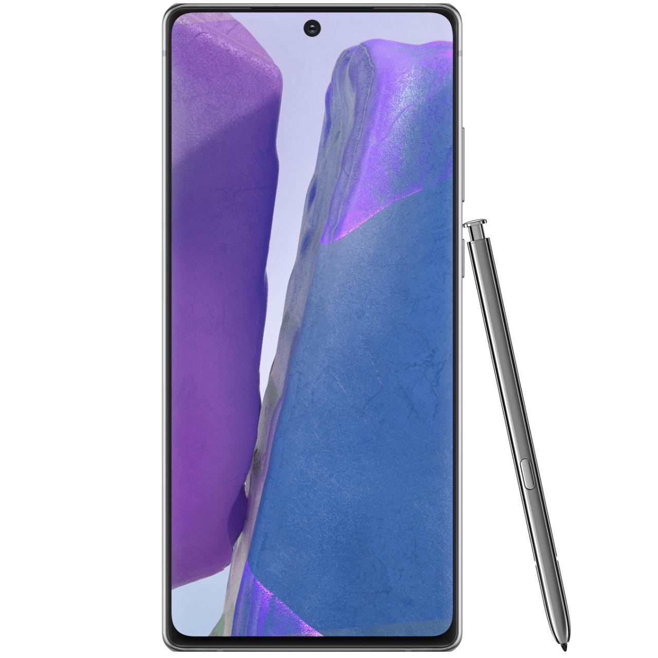 """Smartphone 6.7"""" Samsung Galaxy Note 20 4G full HD+, Exynos 990, 8 Go de RAM, 256 Go (via ODR de 100€)"""