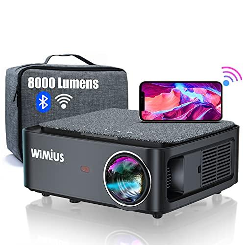 Vidéo-projecteur WiMiUS - full HD, 8000 lumens, Bluetooth / Wi-Fi (vendeur tiers)