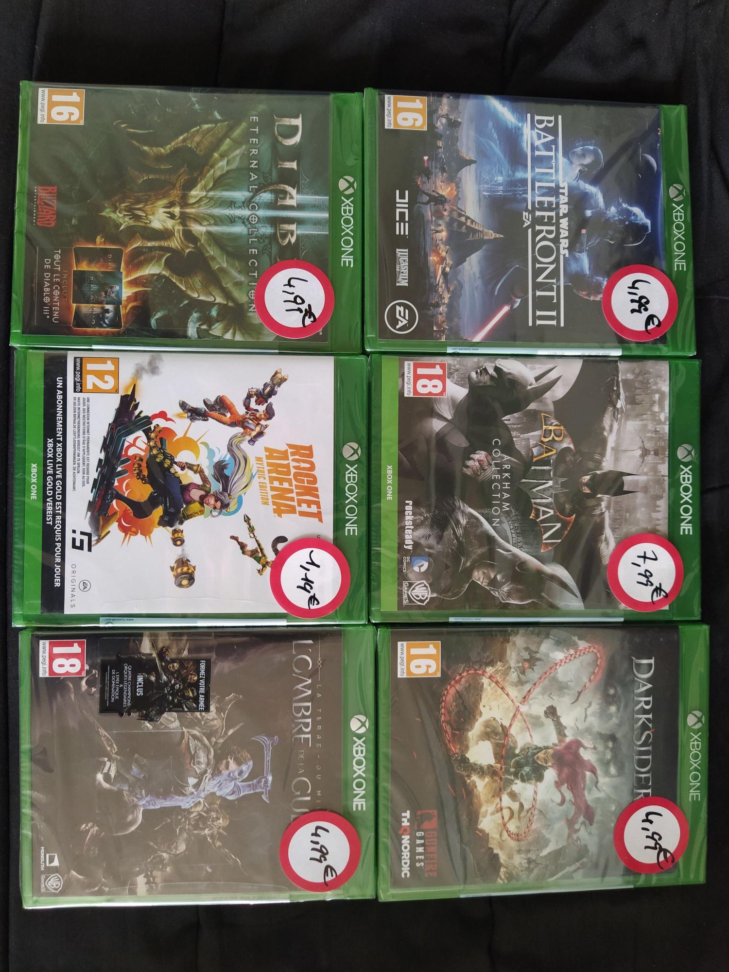 Sélection de jeux vidéo sur Xbox One en promotion - Ex : Diablo 3 éternal collection - Villebon-sur-Yvette (91)