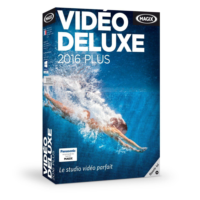 Logiciel Magix Vidéo Deluxe 2016 Plus pour Windows