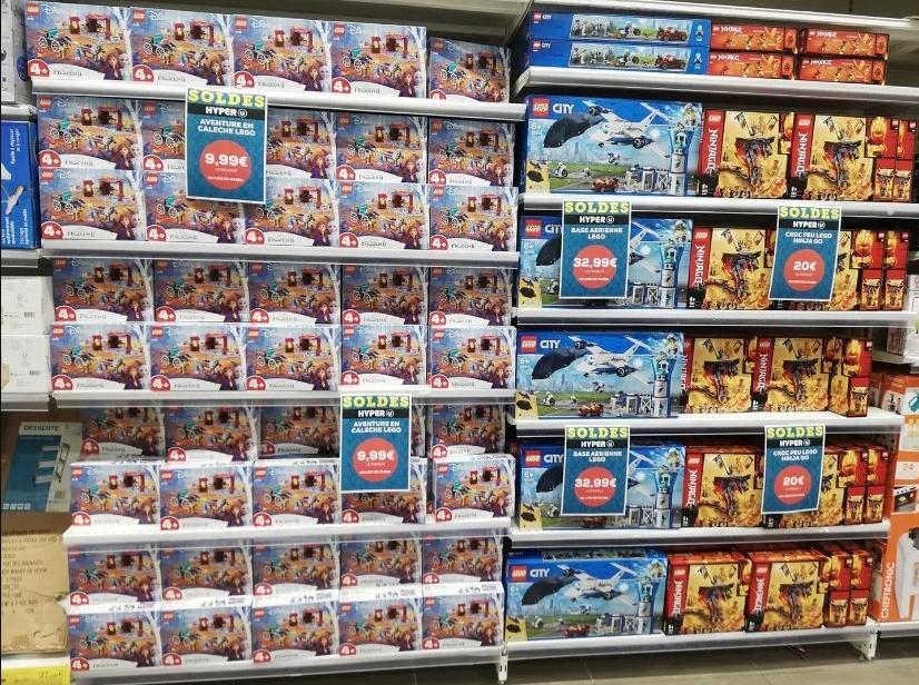 Sélection de set de construction Lego en promotion - Ex: L'aventure en calèche d'Elsa 41166 - Reims Village (51)