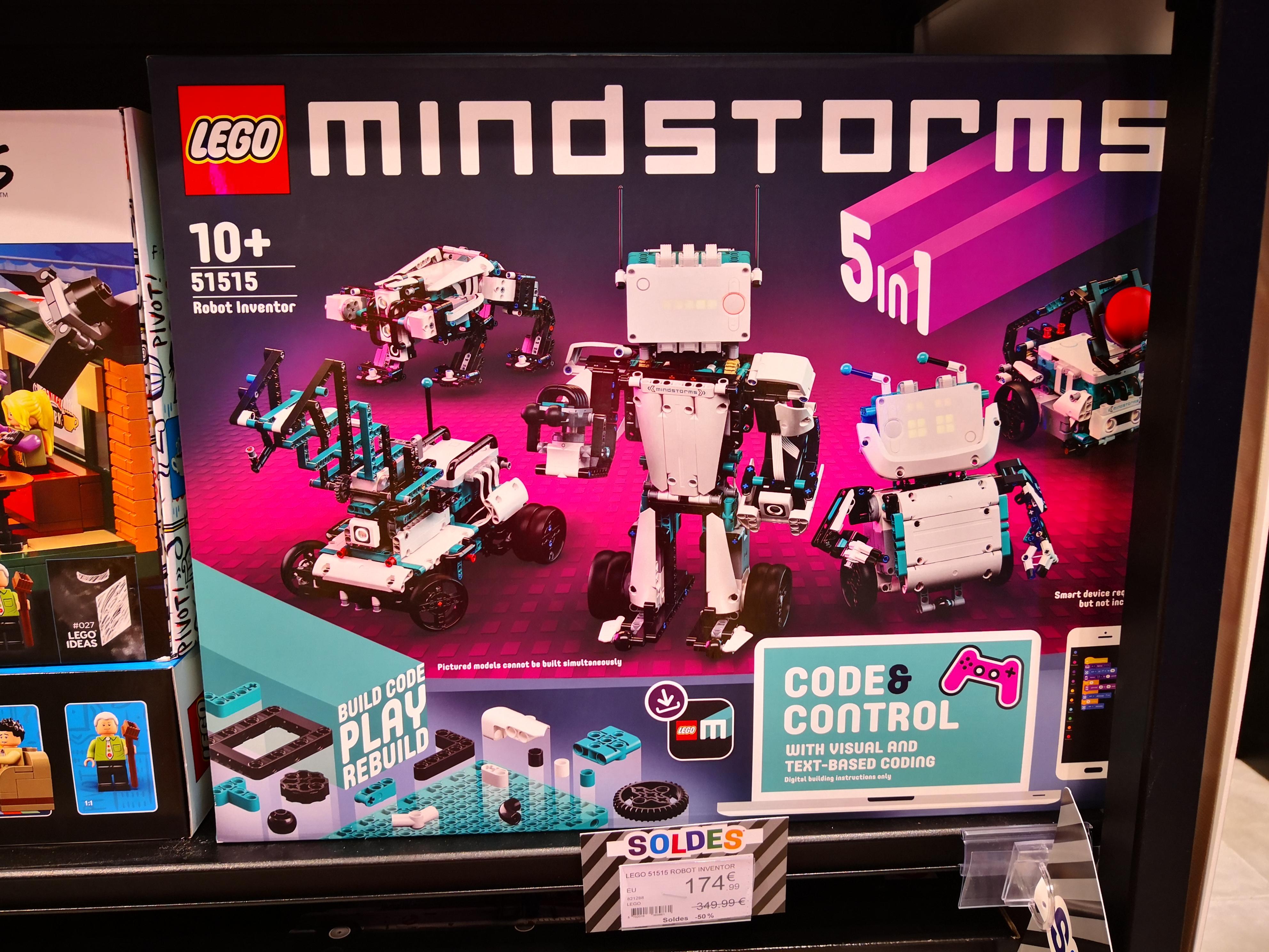 Sélection de jouets Lego en promotion - Ex : Lego Mindstorms Robot Inventor (51515) - Échirolles (38)