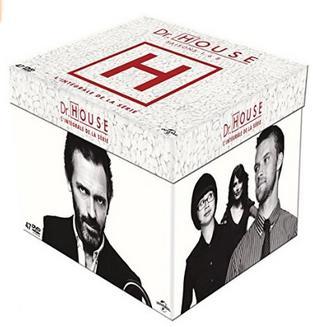 Coffret DVD Dr. House en édition Collector - L'intégrale des 8 saisons + Clé USB exclusive 2Go