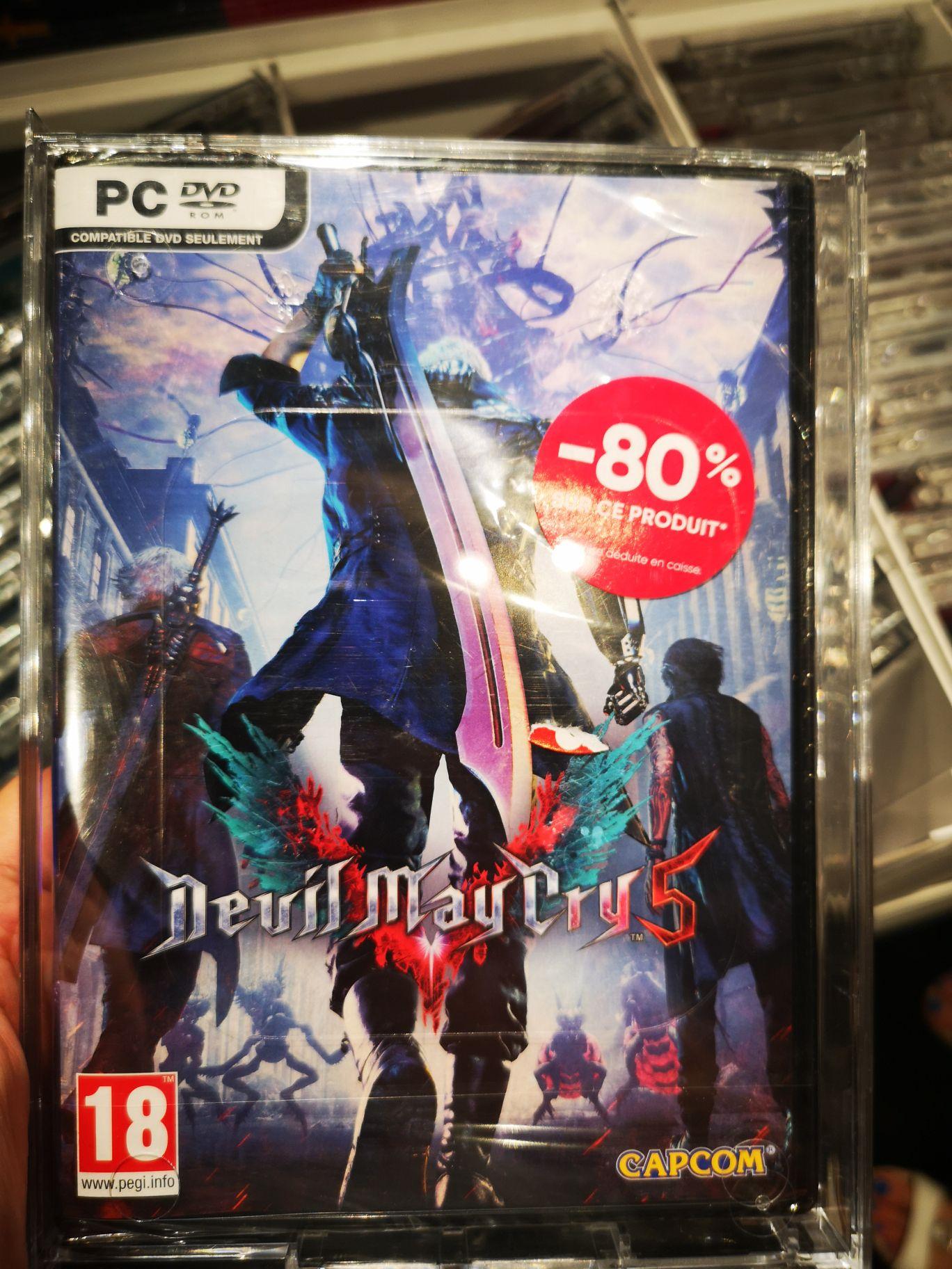 Sélection de jeux-vidéo en promotion - Ex: Devil May Cry 5 sur PC - La Rochelle (17)