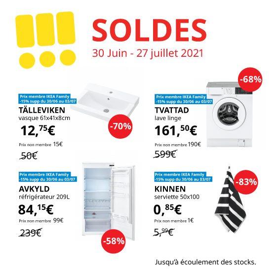 Sélection de produits en promotion - Ex: Lave linge Tvattad, 8Kg - Reims Thillois (51)