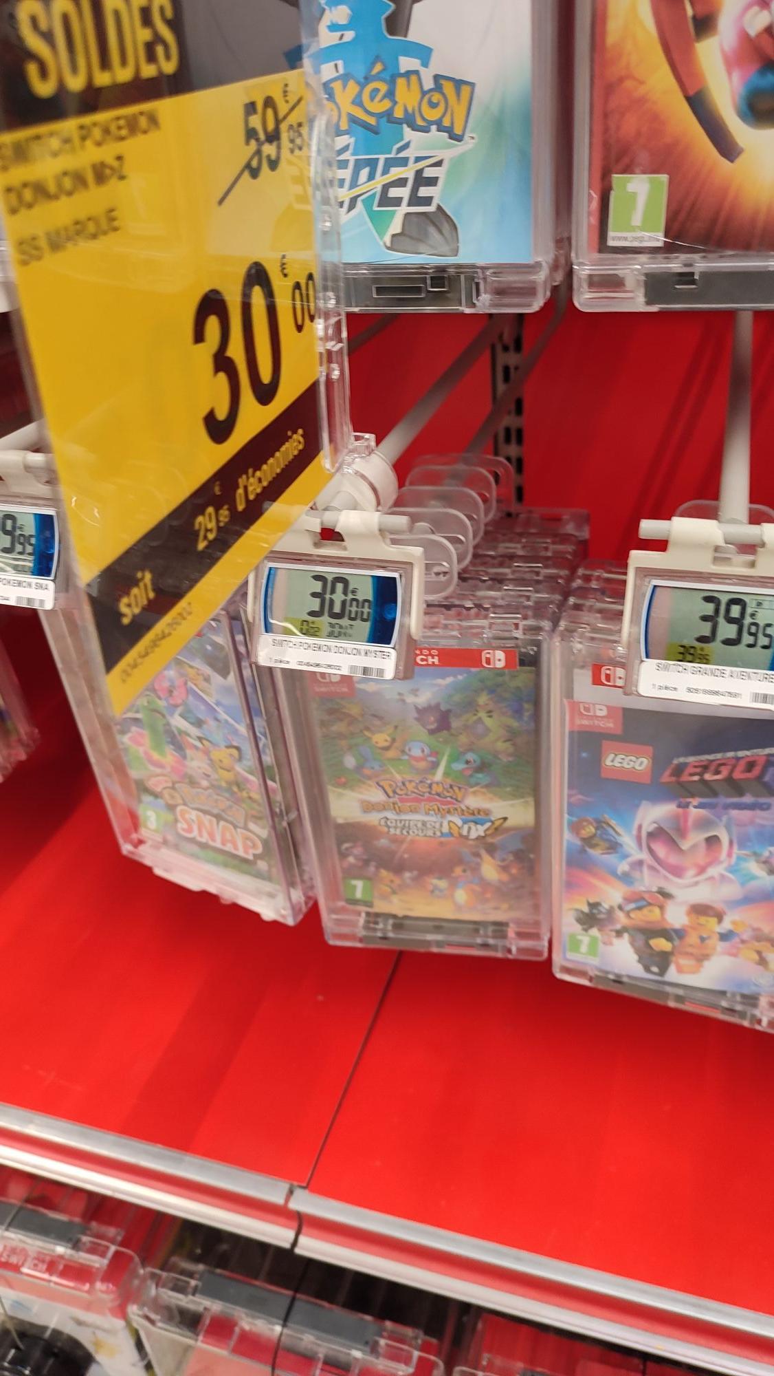 Pokémon Donjon mystère sur Nintendo Switch - La Beaujoire (44)