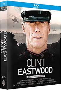 Coffret 6 Blu-Ray Clint Eastwood - Collection Guerre