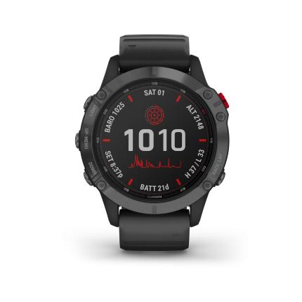 Montre GPS connecté Garmin Fēnix 6 Pro Solar