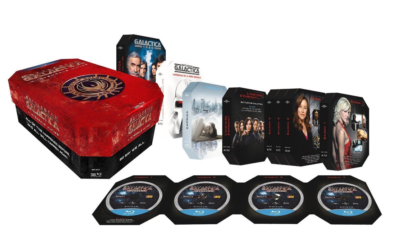 Coffret Ultime Blu-Ray Battlestar Galactica - Intégrale Galactica + Galactica 1980 + Battlestar Galactica + Caprica + Films