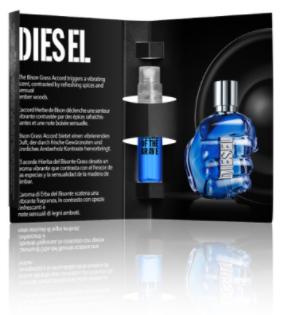 Echantillon du parfum homme Diesel Sound of the Brave gratuit (diesel-fragrances.com)