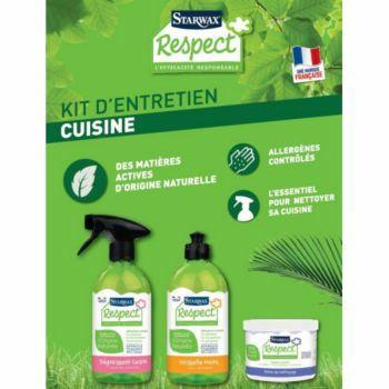 Kit de nettoyage cuisine Starwax