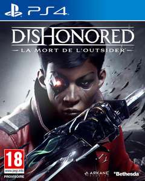 Dishonored: La Mort De L'outsider sur PS4 ou PC (Via retrait en magasin)