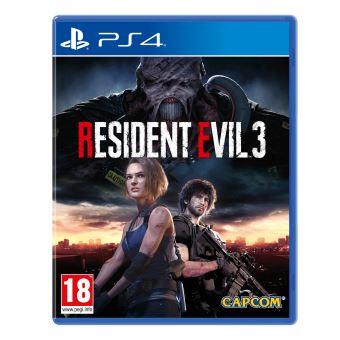 Jeu Resident Evil 3 sur PS4