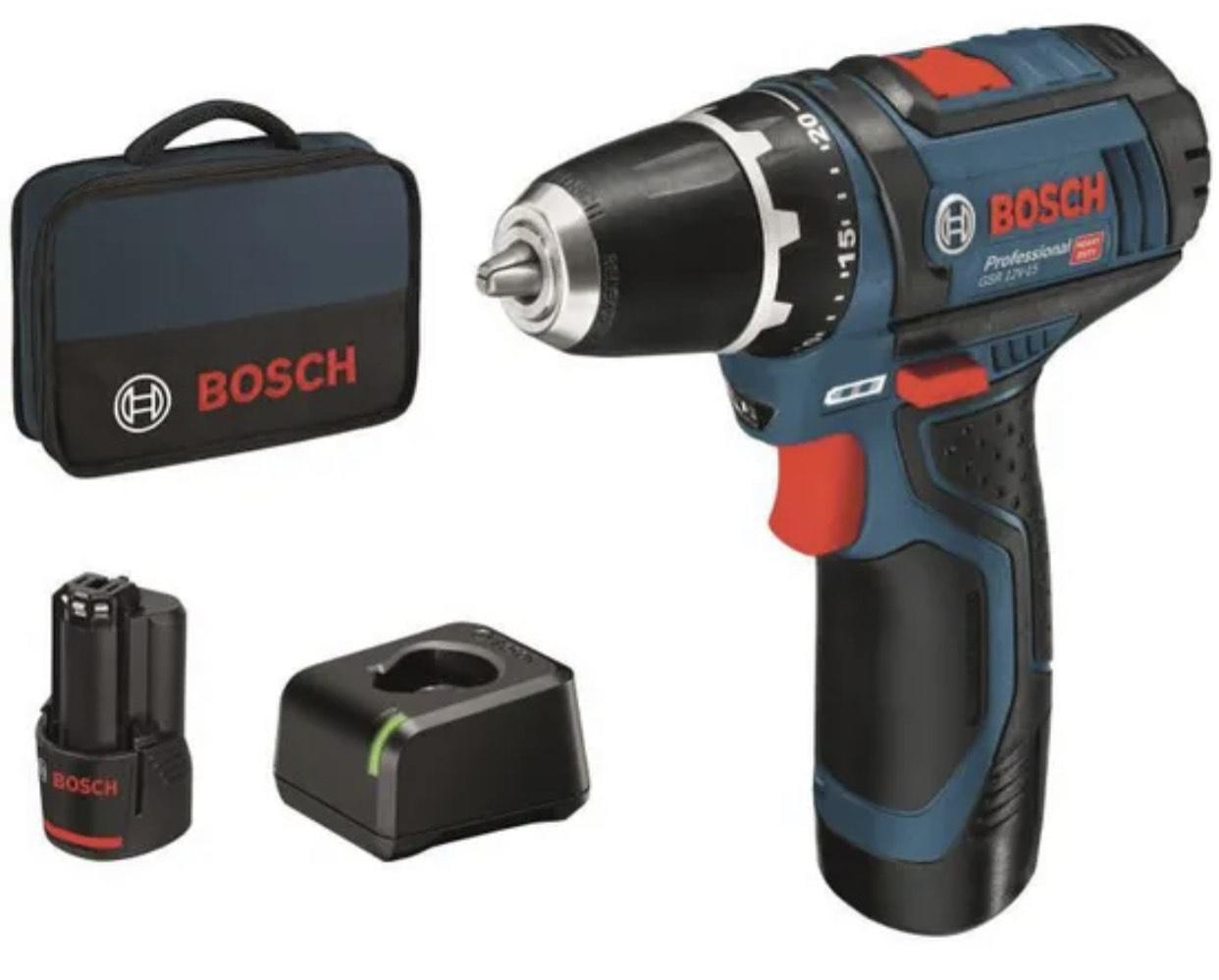 Perceuse-visseuse sans-fil GSR 12V-15 Professional Bosch