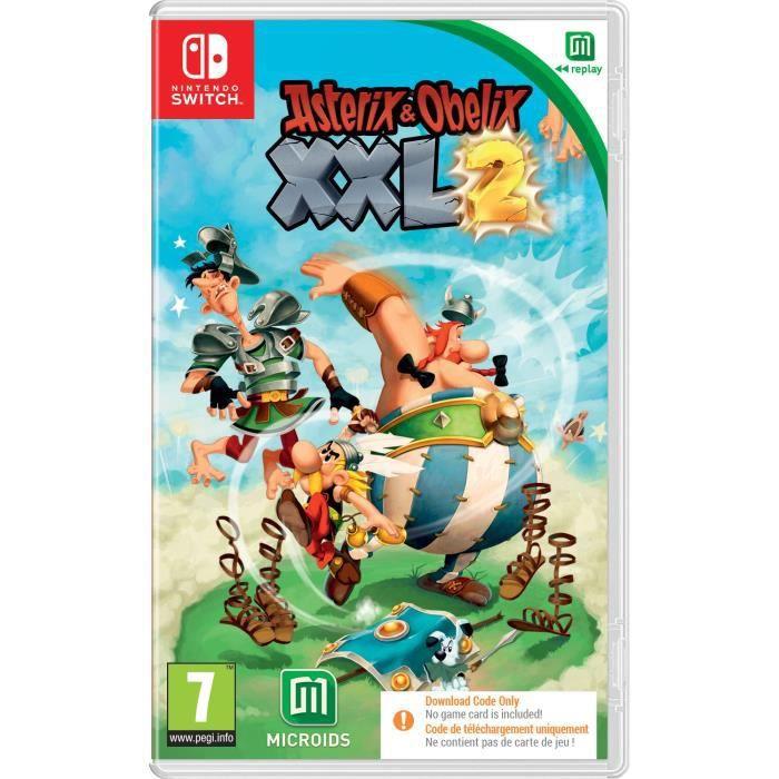 Astérix XXL2 sur Switch (Code dans la boîte)