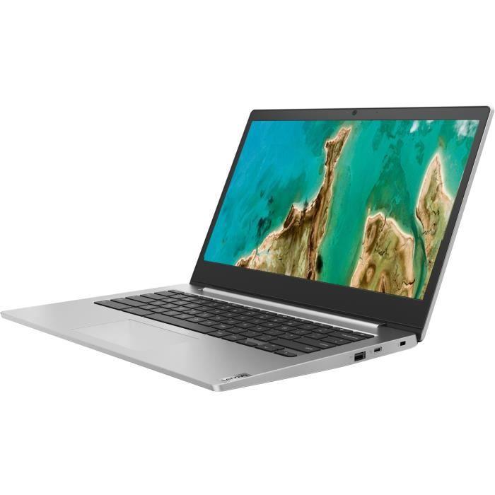 """Ordinateur portable 14"""" Lenovo Chromebook Ideapad IP 3 CB 14IGL05 - Celeron N4020, RAM 4 Go, eMMC 64 Go, Chrome OS"""