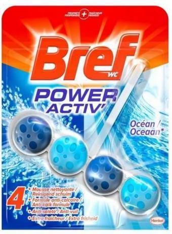 Lot de 2 Nettoyants Bref WC Power Activ gratuits (via BDR et shopmium)