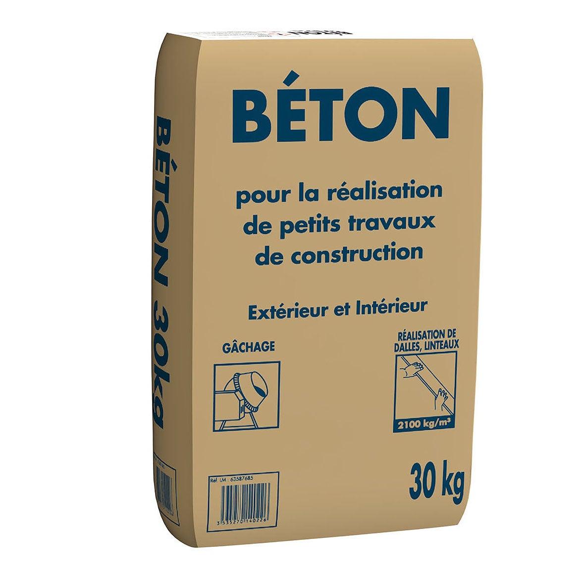 Sac de Béton prêt à l'emploi - 30 kg