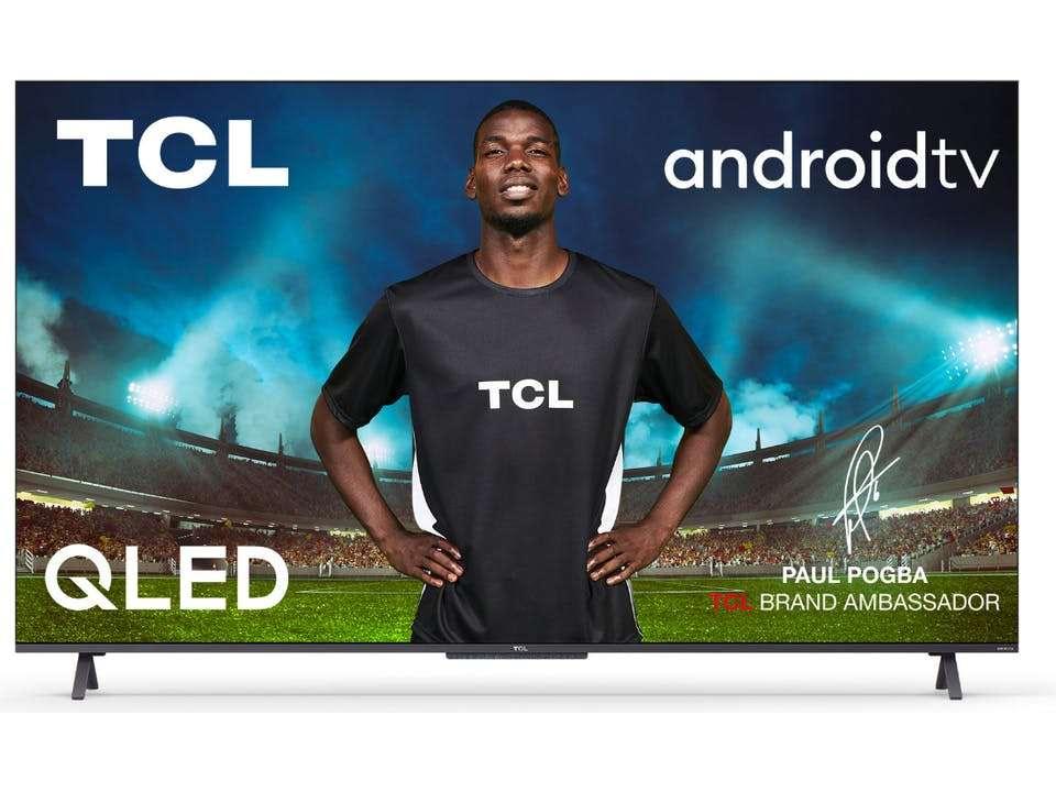 """TV QLED 55"""" TCL 55C721 (2021) - 4K UHD, HDR Pro, Dolby Vision, Android TV (Via ODR de 200€)"""