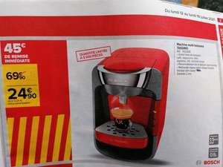 Machine multi-boissons Tassimo Bosch TAS3208