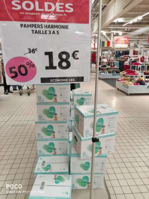 Couches Pampers harmone - Taille 3 à 5 (Montpellier 34)
