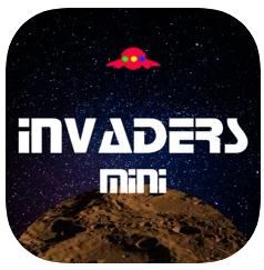 Application Invaders Mini Gratuit sur iOS & Apple Watch