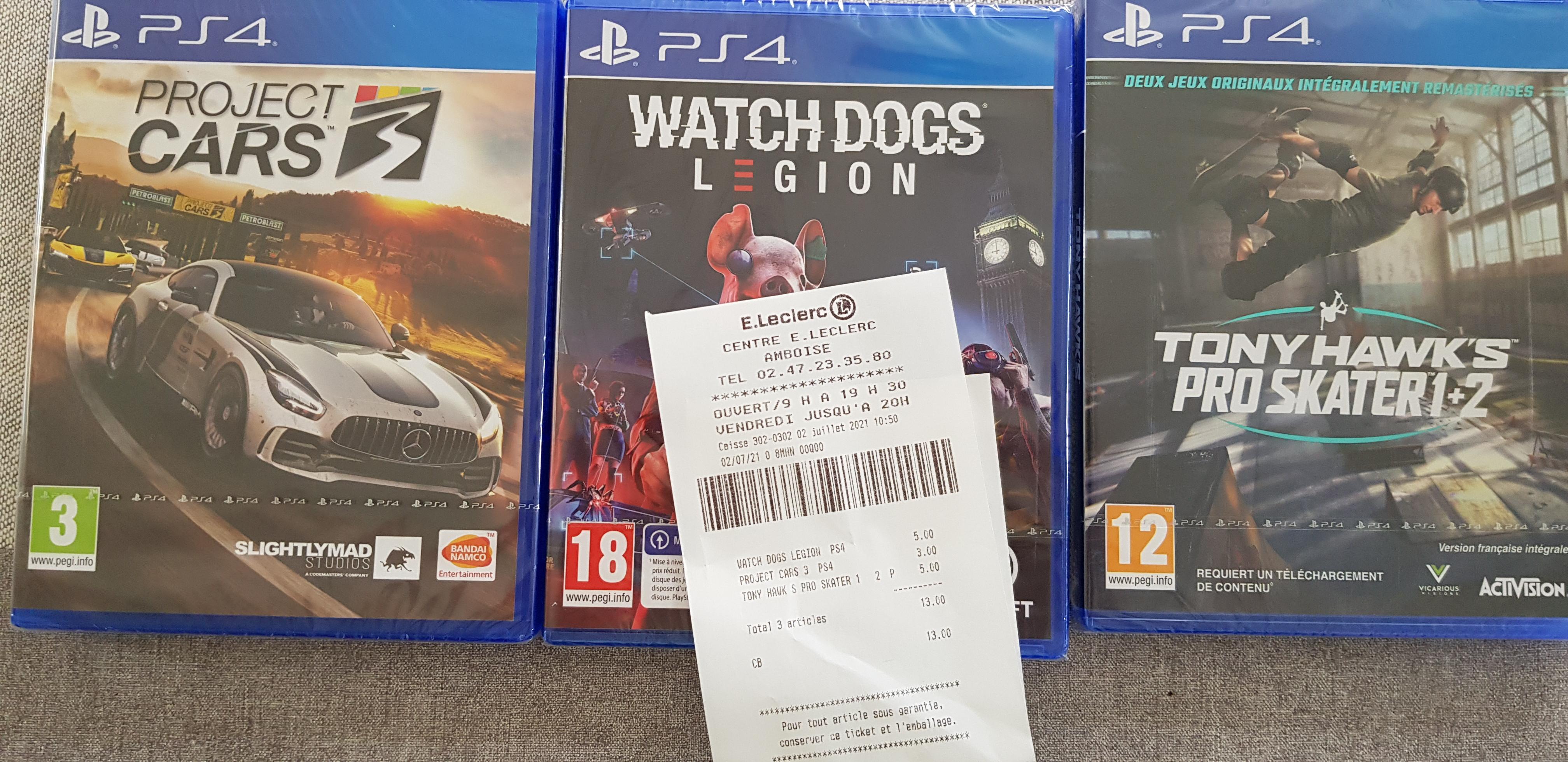 Watch Dogs Legion sur PS4 - Amboise (37)