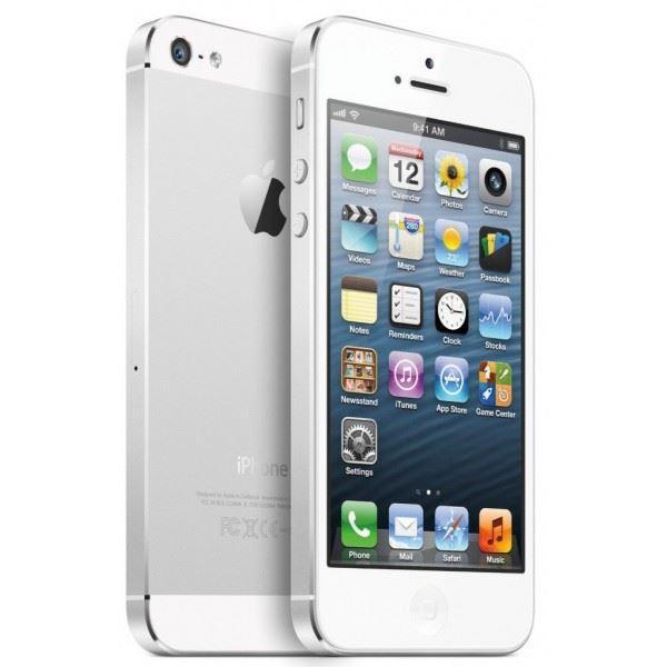 Sélection de smartphones Apple iPhone 5 reconditionnés - Ex : iPhone 5 (16 Go, blanc ou noir)