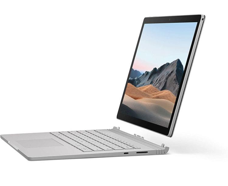 "Tablette 13.5"" Microsoft Surface Book 3 - Core i5, 8 Go RAM, 256 Go SSD"