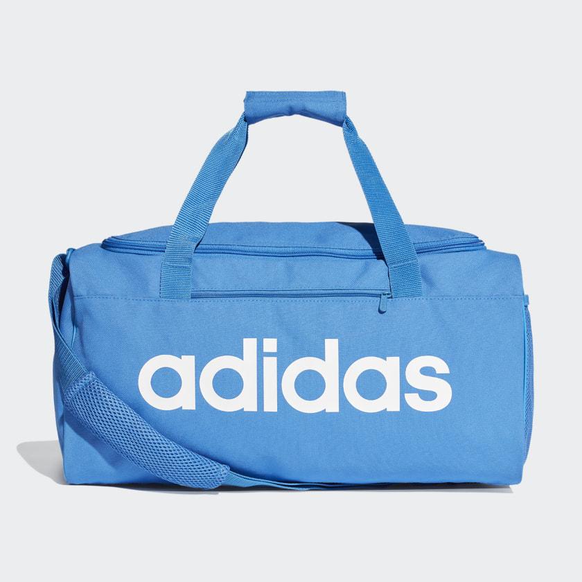 Sac de sport en toile Linear Core petit format - Bleu