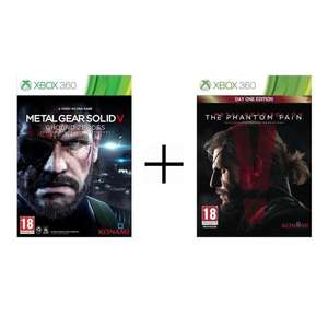 Pack Metal Gear Solid V Ground Zeroes + The Phantom Pain Edition Day One sur Xbox 360