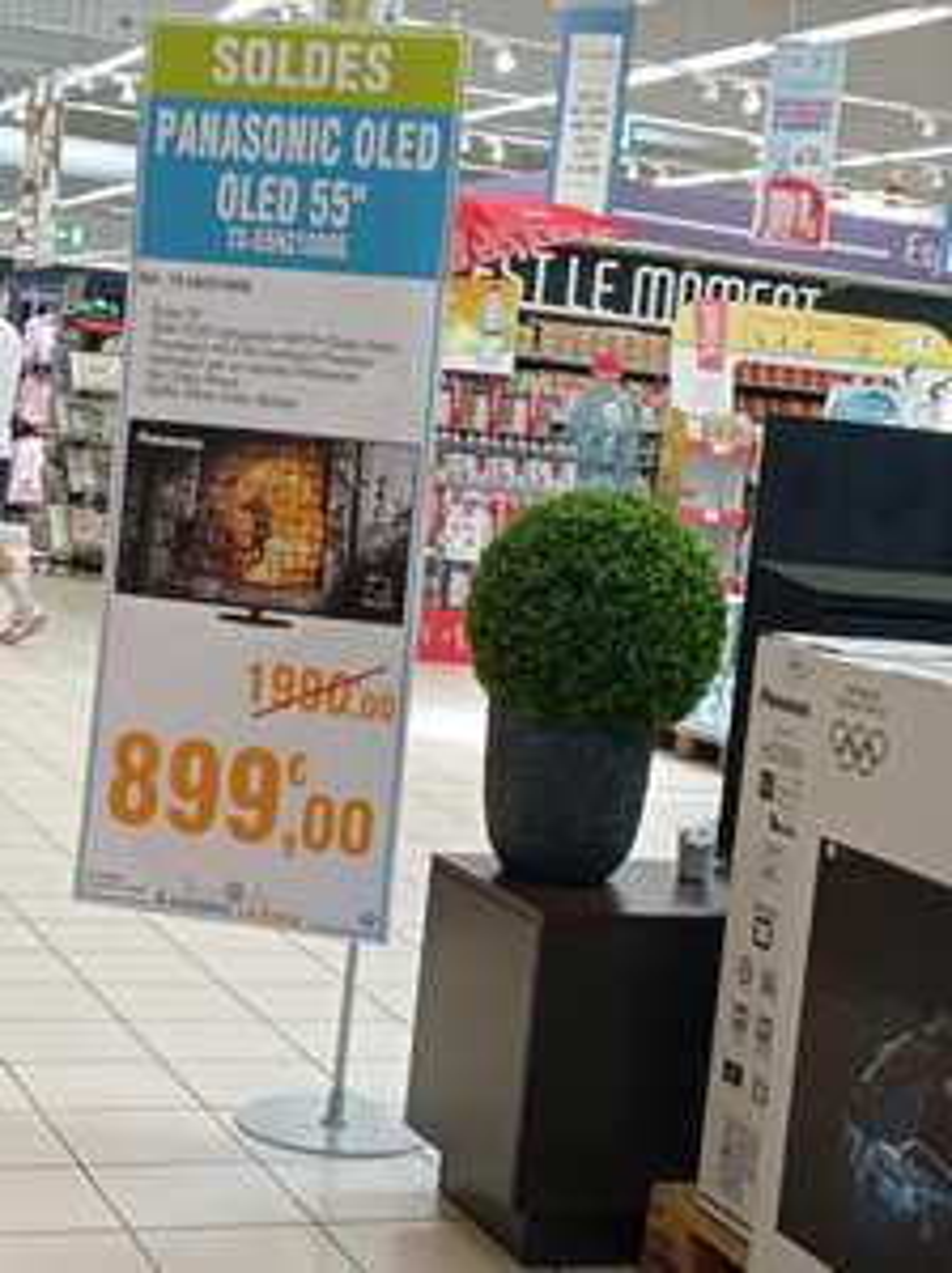 "TV 55"" Panasonic TX-55HZ1000E (4K UHD, HDR10+, OLED, Smart TV, Dolby Vision) - La Teste-de-Buch (33)"