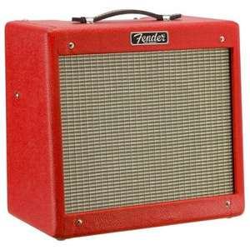 Ampli guitare électrique à lampes Fender Pro Junior IV Brit Red Limited Edition