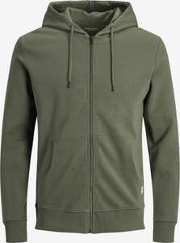 Veste à capuche Coton Jack & Jones - Couleur: Dusty Olive, S ET M