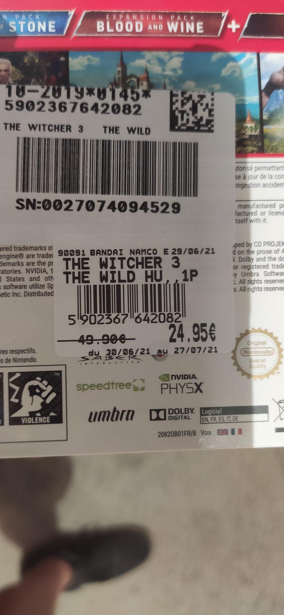 The Witcher 3 : Wild Hunt Complète Edition sur Nintendo Switch - Leclerc Nogent le rotrou (28)