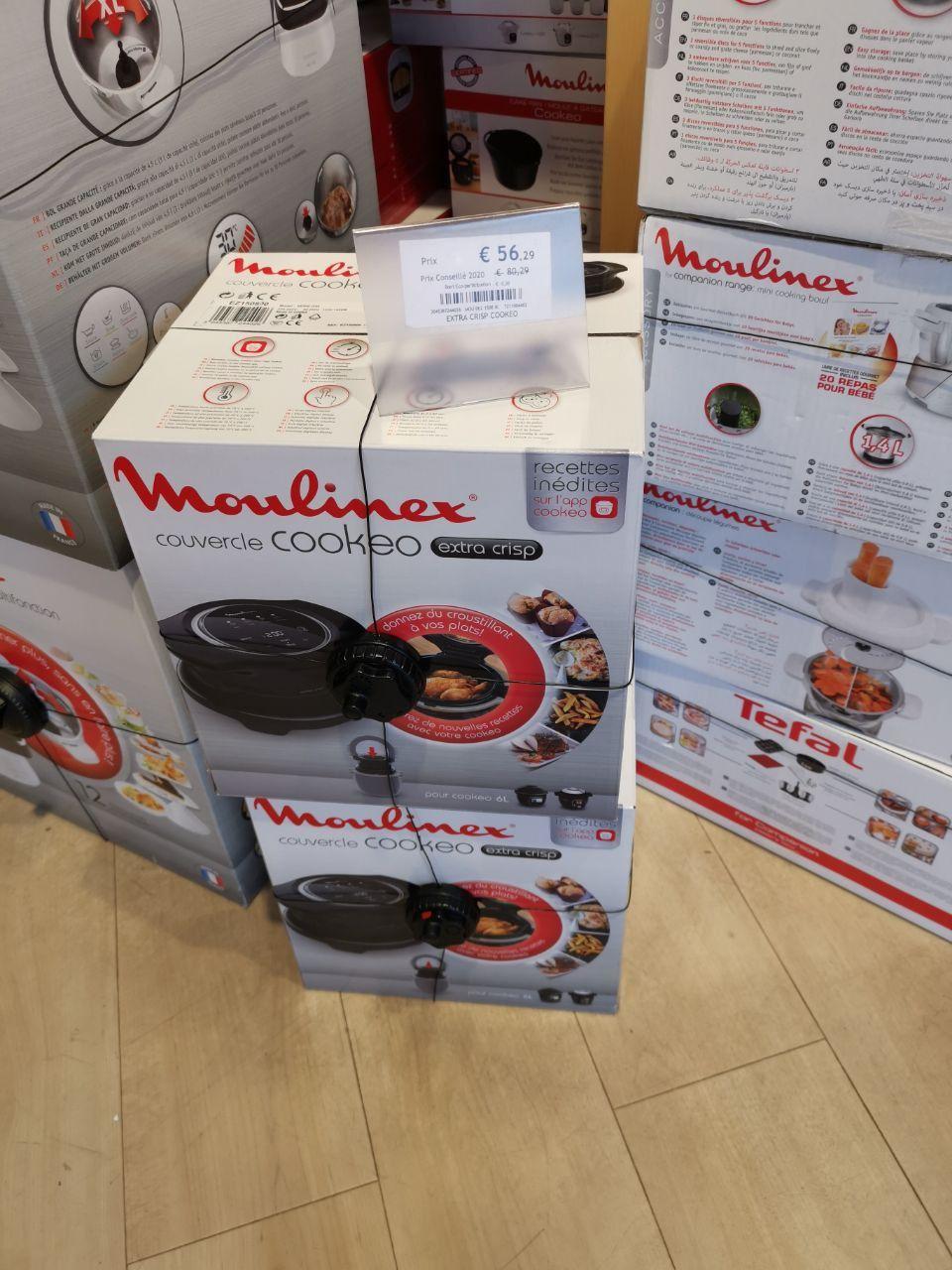 Couvercle Moulinex Cookeo Extra Crisp EZ150800 pour Multicuiseur Cookeo 6L - Home & Cook Aubergenville (78)