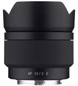 Objectif photo à focale fixe Samyang 12mm F/2 AF - Monture Sony E (APS-C)