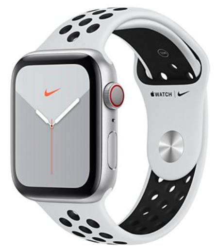 Montre connectée Apple Watch 5 Nike GPS + cellular 44mm