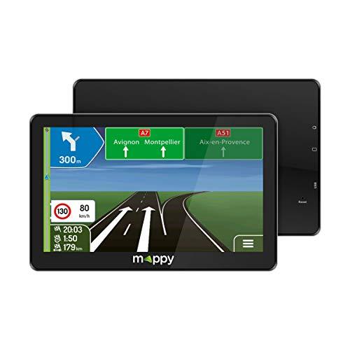 """GPS Voiture 7"""" Mappy Maxi E738 - Noir"""