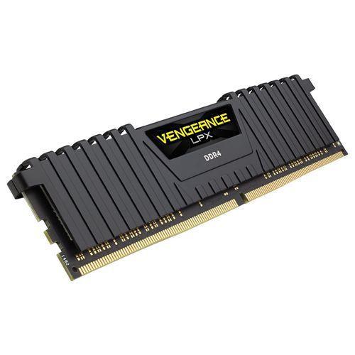 Kit Mémoire RAM CORSAIRVengeance LPX Black 8 Go - DDR4, 2666MHz, Cas 16