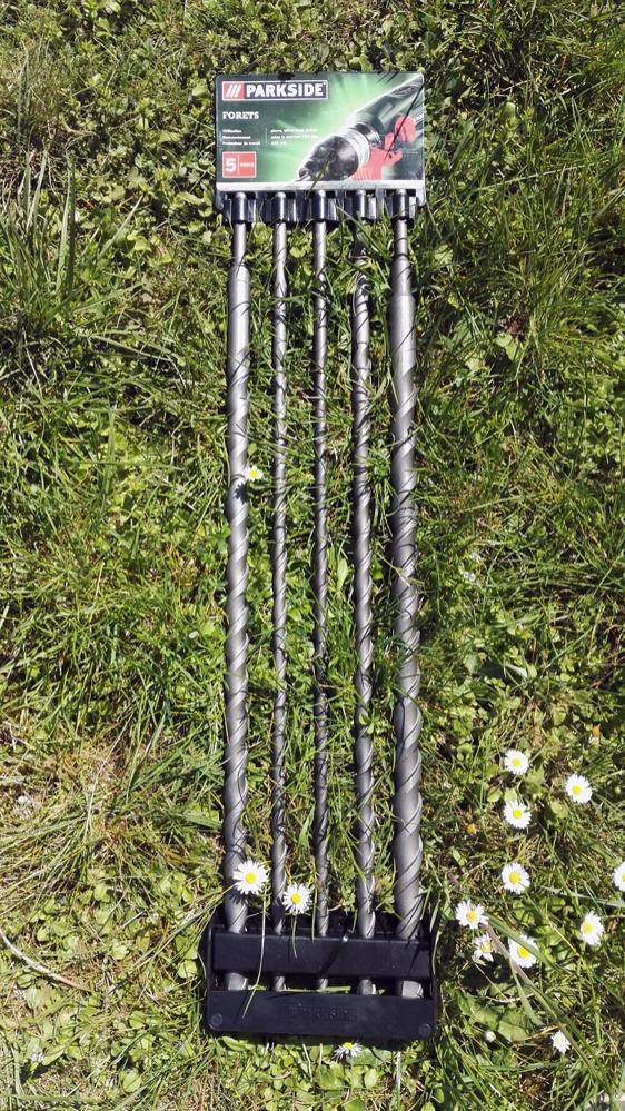 Lot de 5 forets SDS plus longueur 45 cm