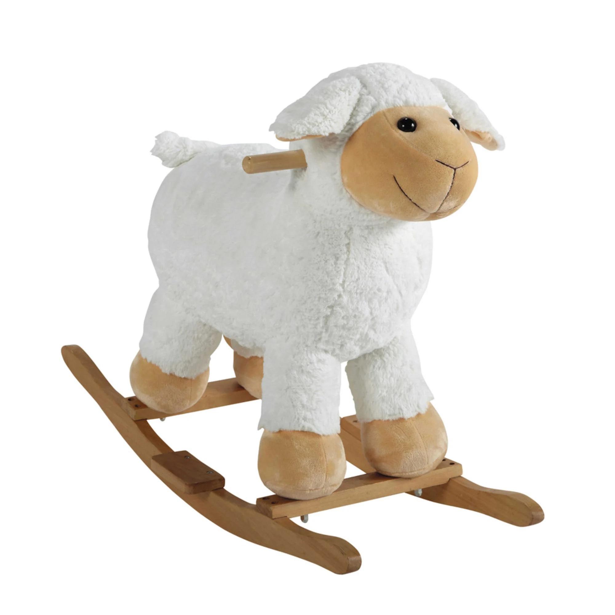 Sélection de jouets à bascule en promotion - Ex : Mouton à bascule en bois