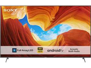 TV 55'' Sony KD-55XH9005 - 4K UHD, 100 Hz, Local Dimming, HDR 10/HLG, Dolby Vision & Atmos, HDMI 2.1 (Frontaliers Suisse)