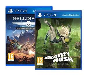 Gravity Rush Remastered + Helldivers : Super-Earth Ultimate Edition sur PS4