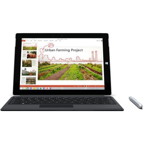 """Tablette tactile 10.8"""" Microsoft Surface 3 - 2 Go de Ram, 64 Go + Clavier"""