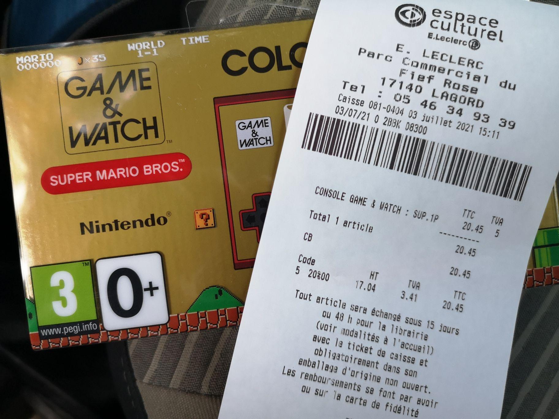 Console portable Nintendo Game & Watch Super Mario Bros. - Lagord (17)