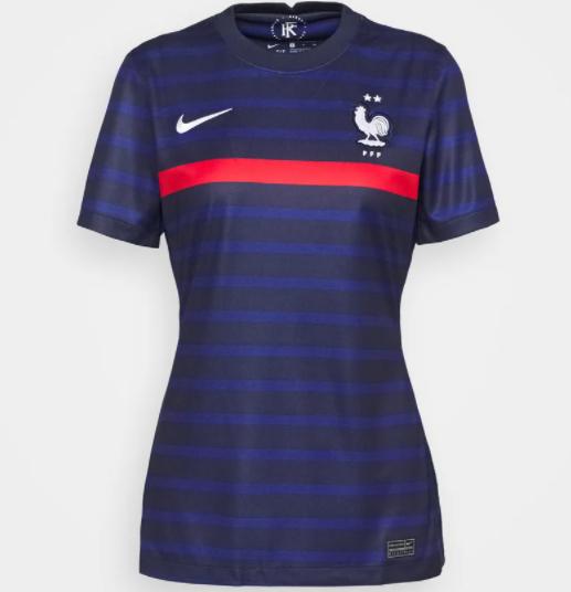 Maillot de foot Nike FFF France pour Femme (Tailles XS et S)