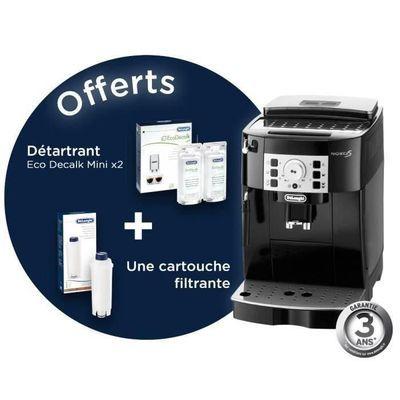 Machine expresso automatique avec broyeur Delonghi Magnifica S ECAM22.140.B + Pack de bienvenue offert - Noir