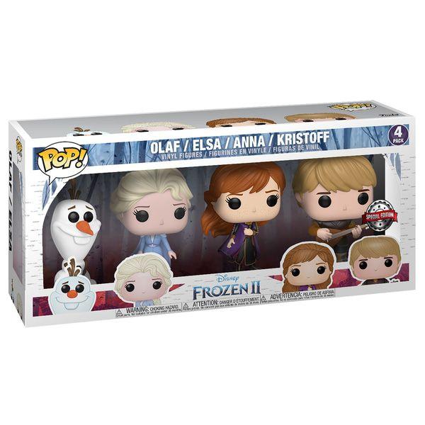 Lot de 4 figurines Funko Pop! - La Reine des Neiges 2