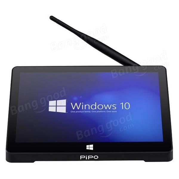 """Mini-PC tactile 9"""" Pipo X9 - Atom Z3736F, 2 Go de RAM, 64 Go"""